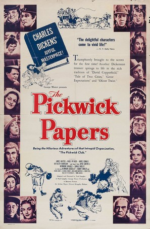 The Pickwick Papers - Movie Poster (thumbnail)