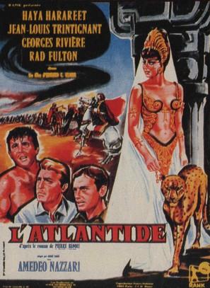 L'Atlantide - French Movie Poster (thumbnail)