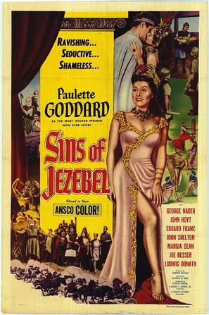 Sins of Jezebel - Movie Poster (thumbnail)