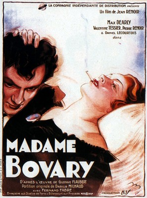Madame Bovary - French Movie Poster (thumbnail)