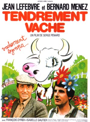 Tendrement vache - French Movie Poster (thumbnail)
