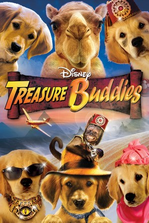 Treasure Buddies - DVD cover (thumbnail)