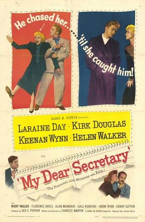 My Dear Secretary - Movie Poster (thumbnail)