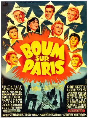 Boum sur Paris - French Movie Poster (thumbnail)