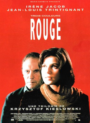 Trois couleurs: Rouge - French Movie Poster (thumbnail)