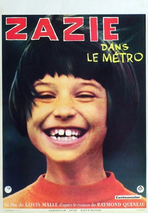 Zazie dans le métro - French Movie Poster (thumbnail)