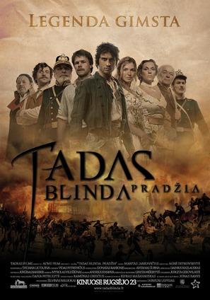 Tadas Blinda. Pradzia - Lithuanian Movie Poster (thumbnail)