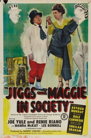 Jiggs and Maggie in Society - Movie Poster (thumbnail)