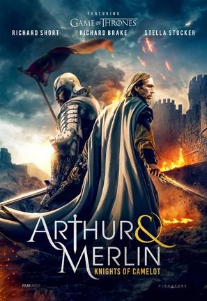 Arthur & Merlin: Knights of Camelot - British Movie Poster (thumbnail)