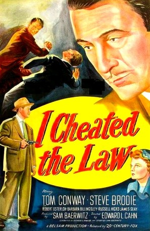 I Cheated the Law - Movie Poster (thumbnail)