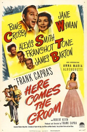 Here Comes the Groom - Movie Poster (thumbnail)