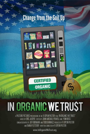 In Organic We Trust - Movie Poster (thumbnail)