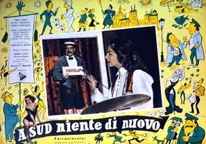 A sud niente di nuovo - Italian Movie Poster (thumbnail)