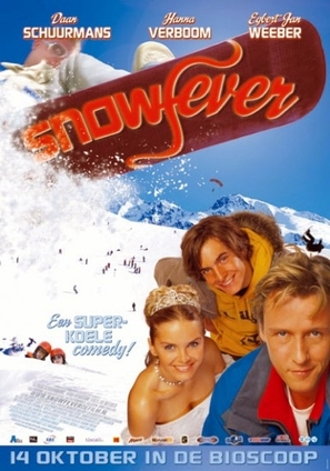 Snowfever - Dutch Movie Poster (thumbnail)