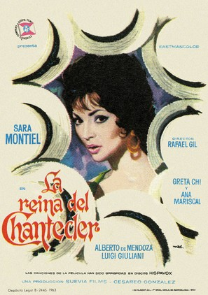 La reina del Chantecler - Spanish Movie Poster (thumbnail)