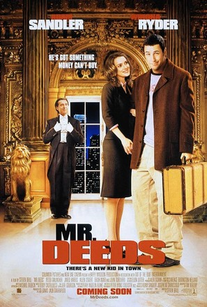 Mr Deeds - Movie Poster (thumbnail)