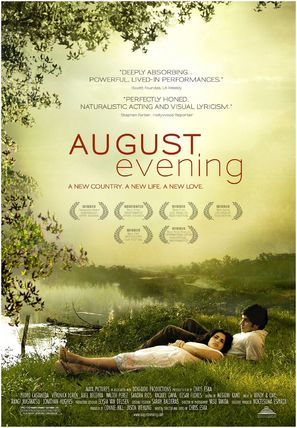 August Evening - Movie Poster (thumbnail)