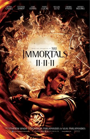 Immortals - Movie Poster (thumbnail)