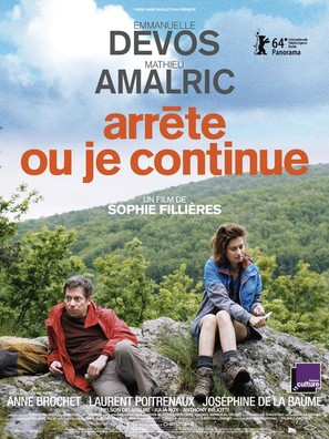 Arrête ou je continue - French Movie Poster (thumbnail)
