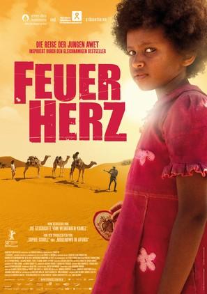 Feuerherz - German Movie Poster (thumbnail)