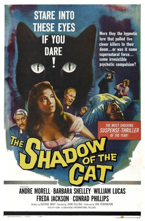 Shadow of the Cat - Movie Poster (thumbnail)