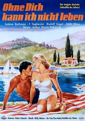 Vento di primavera - German Movie Poster (thumbnail)