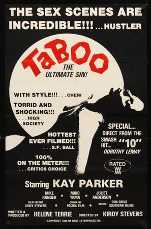 Taboo - Movie Poster (thumbnail)