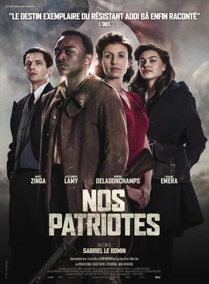 Nos patriotes - French Movie Poster (thumbnail)