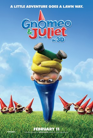 Gnomeo and Juliet - Movie Poster (thumbnail)