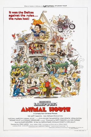 Animal House - Movie Poster (thumbnail)