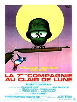 La septième compagnie au clair de lune - French Movie Poster (thumbnail)