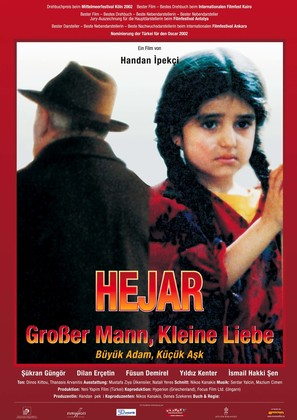 Büyük adam küçük ask - German poster (thumbnail)