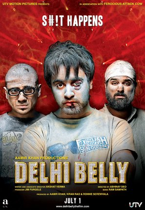 Delhi Belly - Indian Movie Poster (thumbnail)