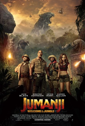 Jumanji: Welcome to the Jungle - Movie Poster (thumbnail)