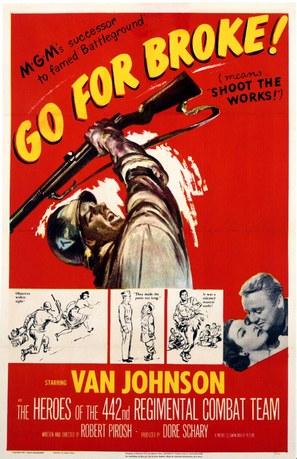Go for Broke! - Movie Poster (thumbnail)