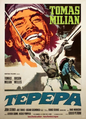 Tepepa - Italian Movie Poster (thumbnail)
