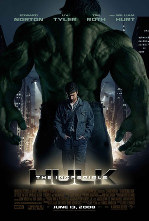 The Incredible Hulk - Advance poster (thumbnail)