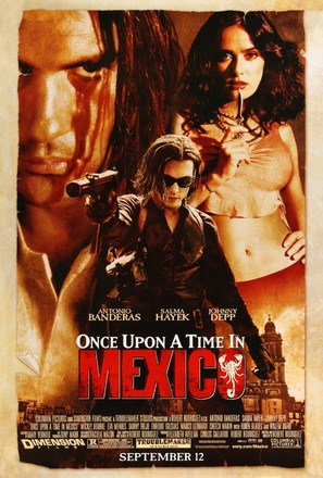 Once Upon A Time In Mexico - Movie Poster (thumbnail)