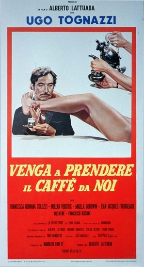 Venga a prendere il caffè da noi