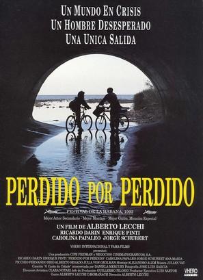 Perdido por perdido - Spanish Movie Poster (thumbnail)