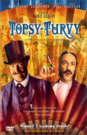 Topsy-Turvy - DVD movie cover (thumbnail)