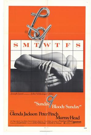 Sunday Bloody Sunday - Movie Poster (thumbnail)