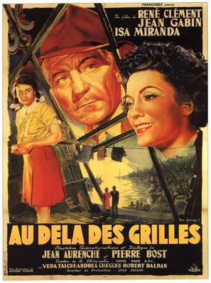Mura di Malapaga, Le - French Movie Poster (thumbnail)