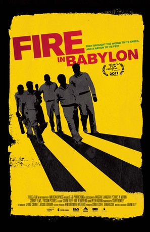 Fire in Babylon - Movie Poster (thumbnail)
