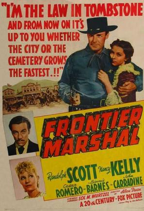 Frontier Marshal - Movie Poster (thumbnail)