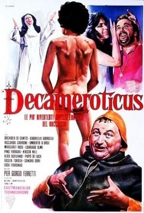 Decameroticus - Italian Movie Poster (thumbnail)