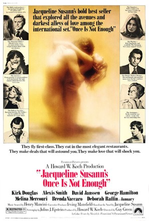 Jacqueline Susann's Once Is Not Enough - Movie Poster (thumbnail)