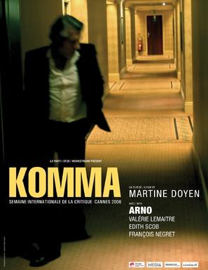 Komma - Belgian poster (thumbnail)