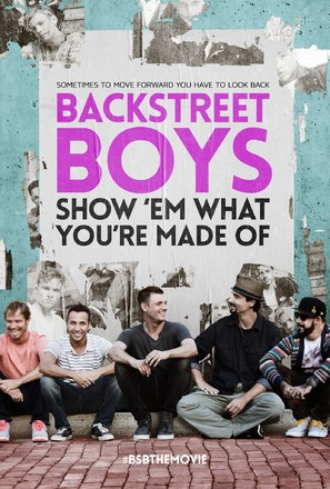 Backstreet Boys: Show 'Em What You're Made Of - British Movie Poster (thumbnail)