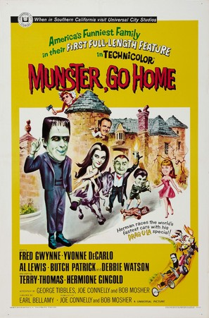 Munster, Go Home - Movie Poster (thumbnail)